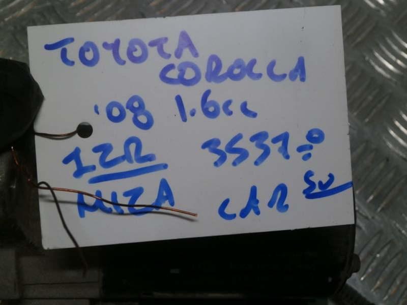 TOYOTA COROLLA 08 1,6cc 1ZR MIZA ΚΩΔ:28100-0T010